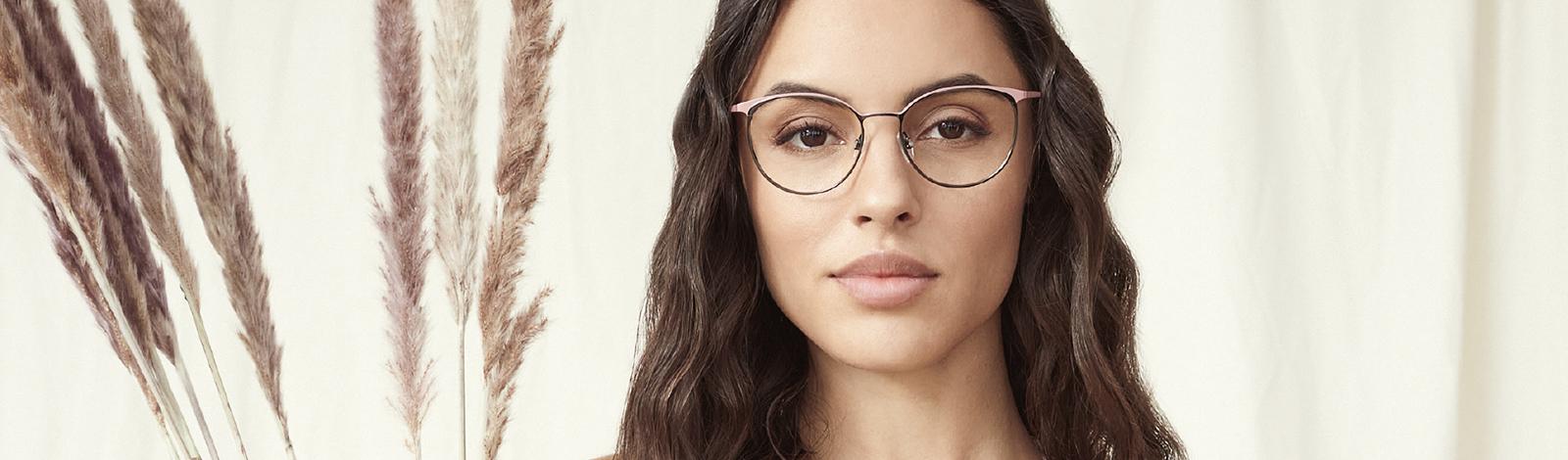 Hintergrundbild Brille